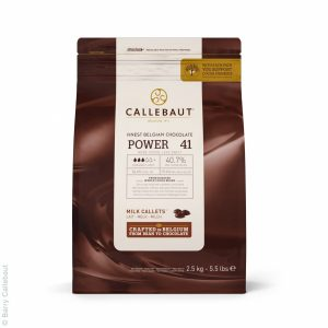 Молочный шоколад Callebaut Power 41, 1 кг