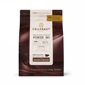Шоколад-кувертюр Callebaut Power 80