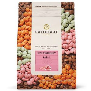 Шоколад Callebaut Strawberry , 1 кг